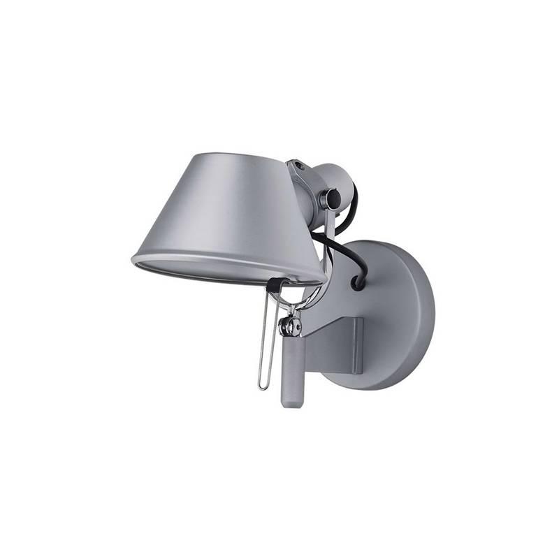 Office small wall lamp 1L aluminium.