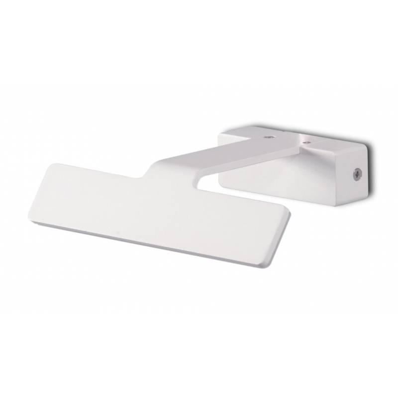Aplique de pared led 8w lak ip23 blanco daviu - Aplique pared led ...