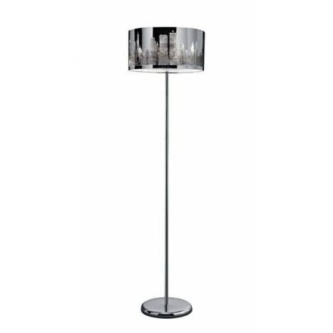 TRIO Capital floor lamp 2L chrome
