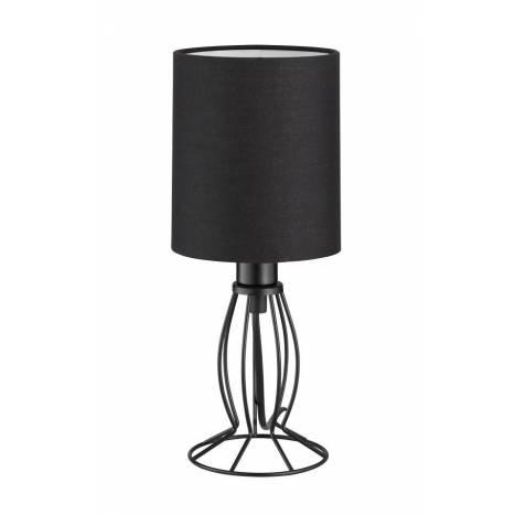 Lámpara de mesa Ling tela negro - Trio