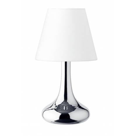 TRIO Wim table lamp 1L white