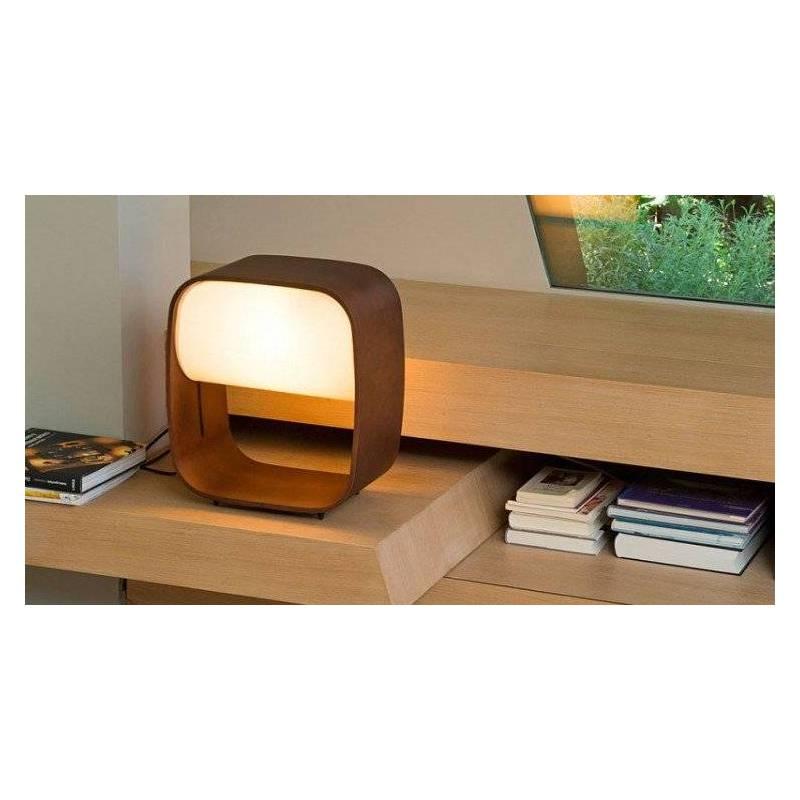 Faro 1968 table lamp 1l wood