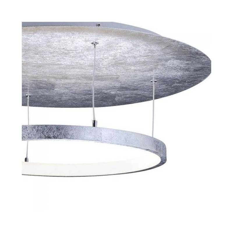 paul neuhaus nevis led ceiling lamp silver. Black Bedroom Furniture Sets. Home Design Ideas