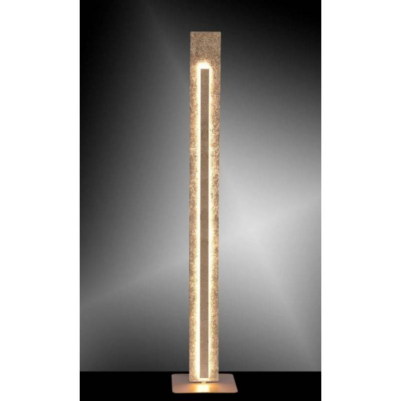 Paul Neuhaus Nevis Led Floor Lamp Gold
