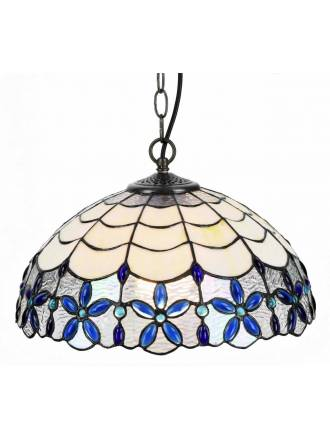 SULION Blue Tiffany pendant lamp
