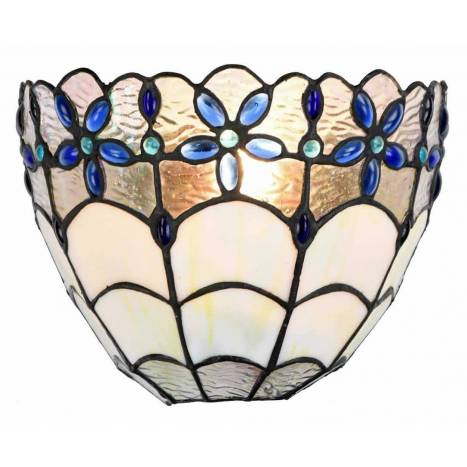 SULION Blue Tiffany wall lamp