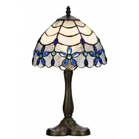 SULION Blue Tiffany table lamp