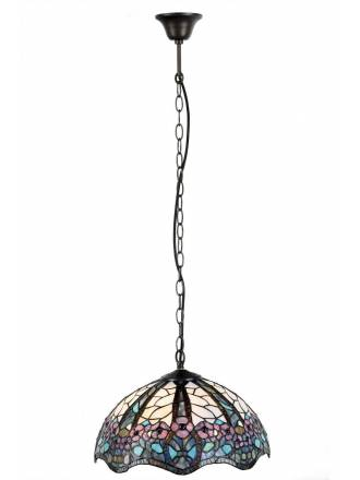 SULION Floral Tiffany pendant lamp