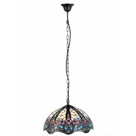 Sulion Floral Tiffany Pendant L on floral for living room