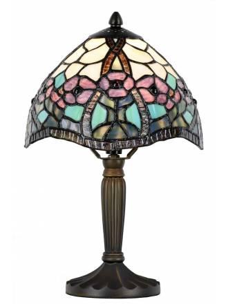 Lámpara de mesa Floral Tiffany - Sulion
