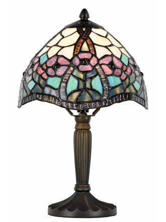 SULION Floral Tiffany table lamp