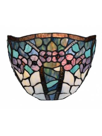 SULION Floral Tiffany wall lamp