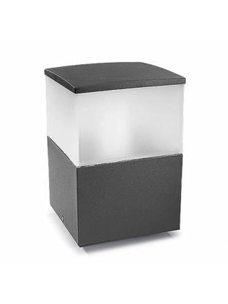 LEDS C4 Cubik bollard anthracite