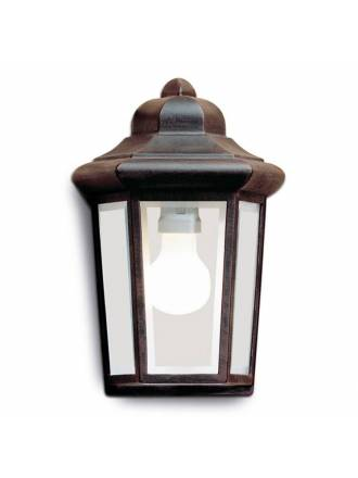 LEDS C4 Perseo wall lamp brown oxide