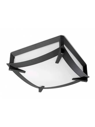 LEDS C4 Mark ceiling lamp anthracite
