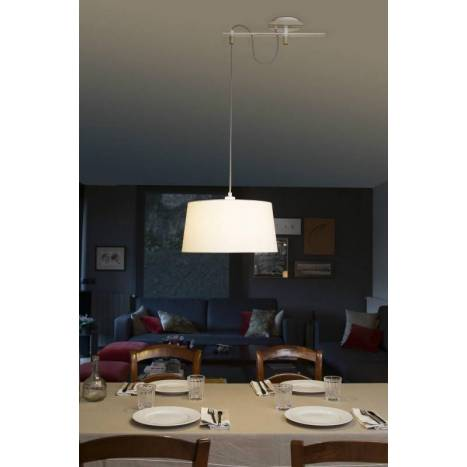 FARO Fusta pendant lamp white