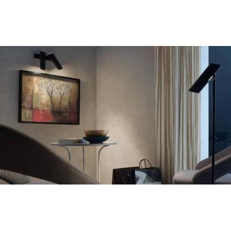 Regleta de focos Link 2 luces negro - Faro