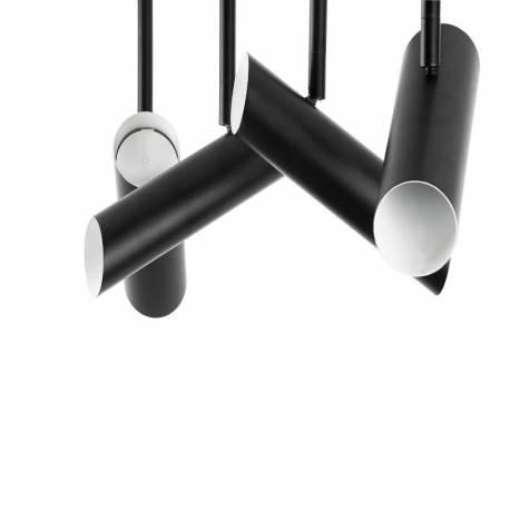 Regleta de focos Link 4 luces negro - Faro