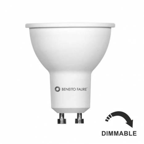 Bombilla LED 8w GU10 60º System regulable - Beneito Faure