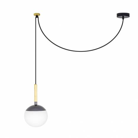 FARO Mine pendant lamp grey