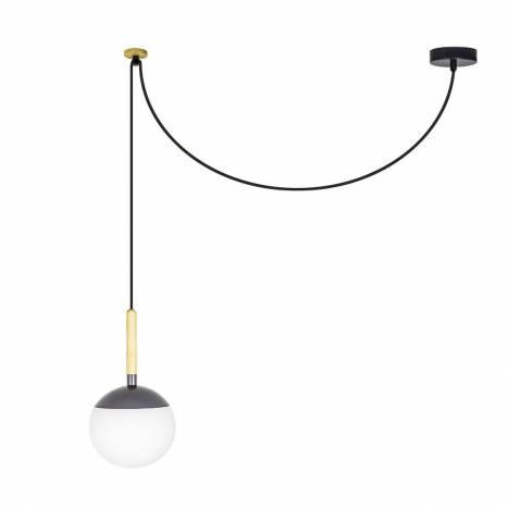 Lámpara colgante Mine gris - Faro