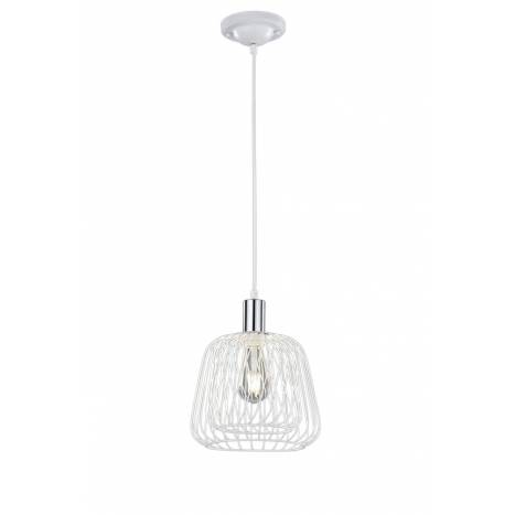 Lámpara colgante Sanna 1 luz blanco - Trio