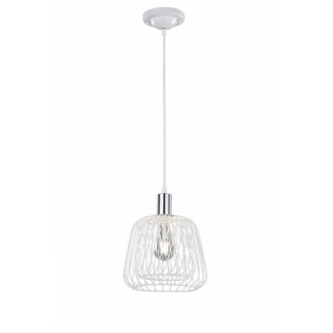 TRIO Sanna pendant lamp 1L white