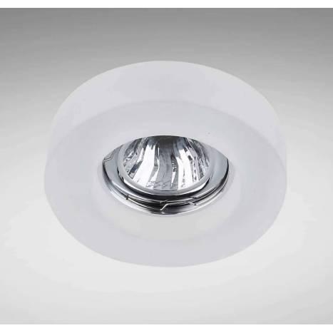 YLD SC760RF recessed light white glass