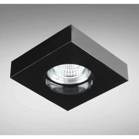 YLD SC760SQBK recessed light black glass