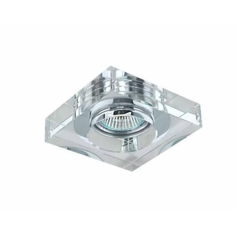 Foco empotrable SC760SQA cristal transparente - YLD