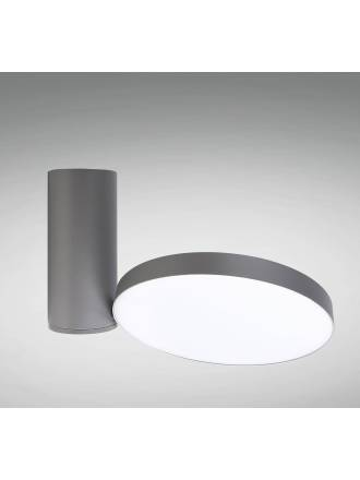 YLD LC1486GY LED 23w surface light grey