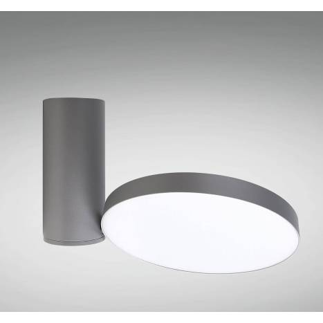 Foco de superficie LC1486GY LED 23w gris - YLD