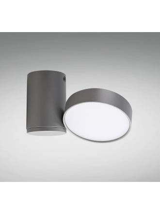 YLD LC1486GY LED 11w surface light grey