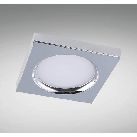 YLD LC1445SQBK recessed light chrome