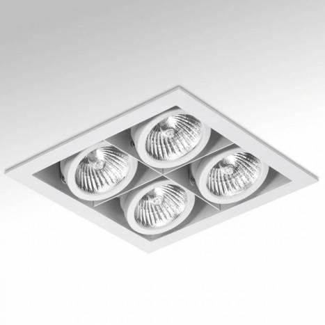 ONOK Cardan Mini 4 recessed light white aluminium