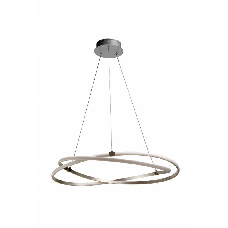 Lámpara colgante Infinity LED 60w plata - Mantra