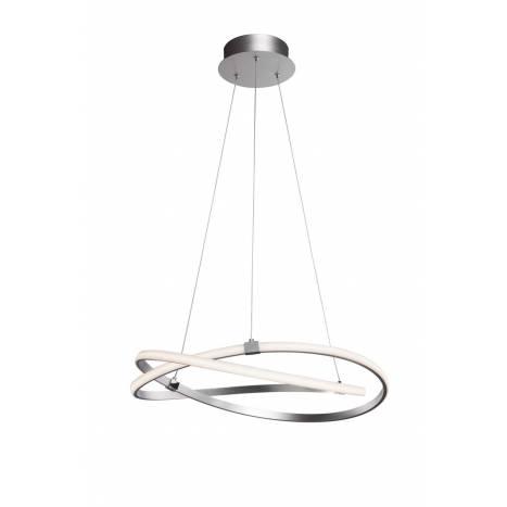 Lámpara colgante Infinity LED 42w plata - Mantra