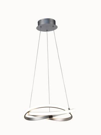 Lámpara colgante Infinity LED 30w plata - Mantra