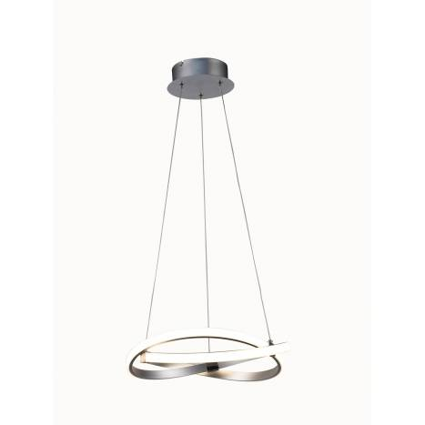MANTRA Infinity pendant lamp LED 30w Silver