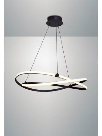 Lámpara colgante Infinity LED 60w forja - Mantra