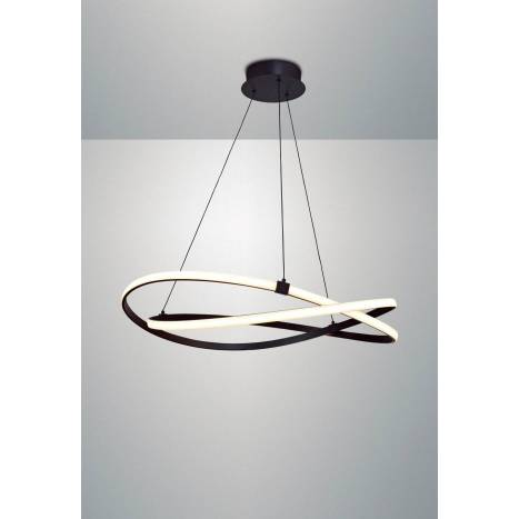 MANTRA Infinity pendant lamp LED 60w forge