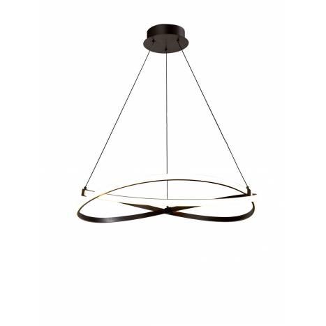 Lámpara colgante Infinity LED 42w forja - Mantra