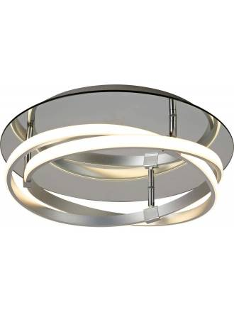 MANTRA Infinity ceiling lamp LED 30w silver