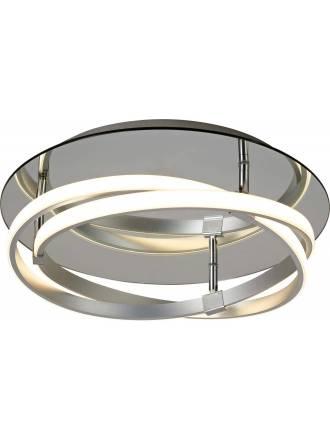 Plafón de techo Infinity LED 30w plata - Mantra
