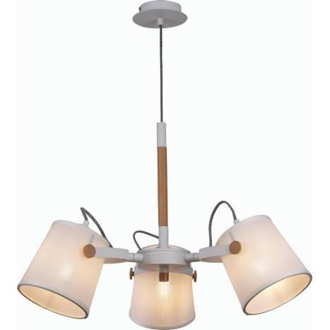 Lámpara colgante Nordica 2 3l blanca - Mantra