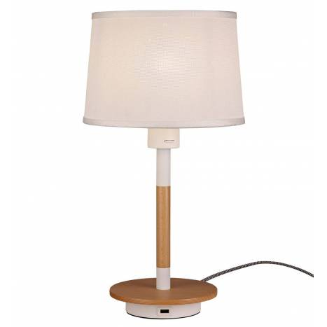 MANTRA Nordic 2 table lamp USB white