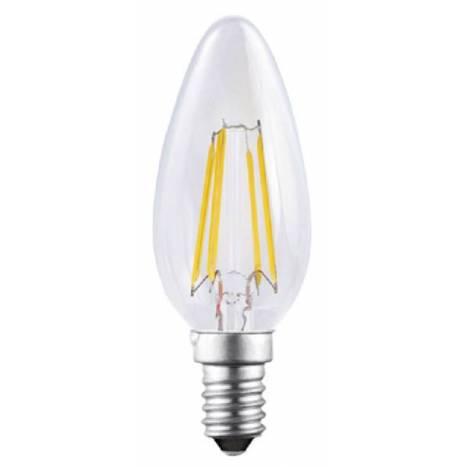 Bombilla LED 4w E14 Vela decorativa - Mantra