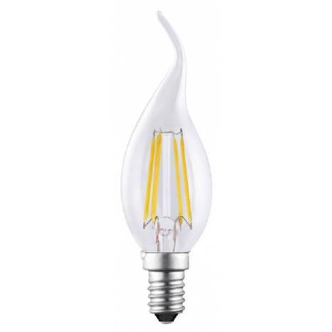 Bombilla LED 4w E14 llama decorativa - Mantra