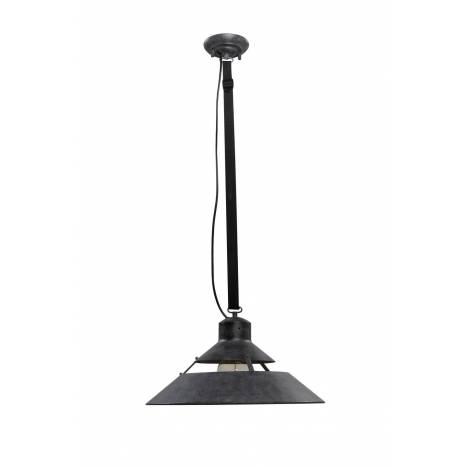 Lámpara colgante Industrial 45cm óxido - Mantra