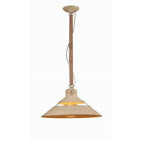Lámpara colgante Industrial 45cm arena - Mantra